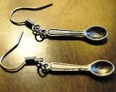 Spoon Spoonie Earrings in Silver