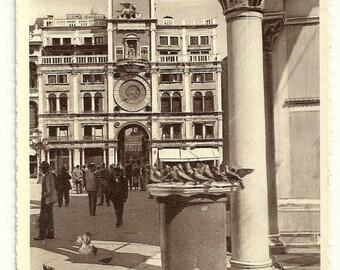 1937 Venice Italy Vintage Postcard Unused