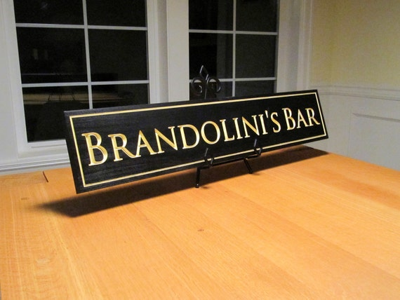 Custom Bar Sign - 6.5 x 32""