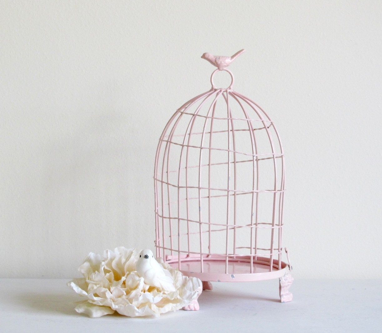 reserved for mints decorative birdcage shabby by elmstreetmarket. Black Bedroom Furniture Sets. Home Design Ideas
