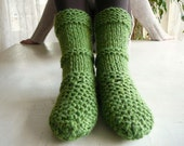 Green Boots - Slippers