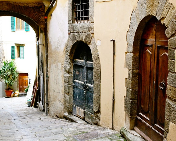 Tuscan Door Print Italy Photography Italian Home By Vitanostra