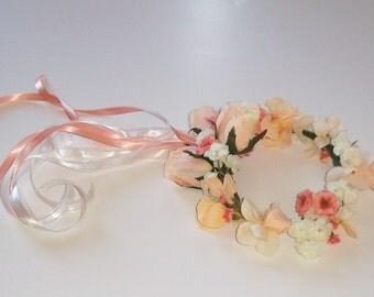 Hair Ring, Flowergirl Hair Ring, Hair Wreath, Flowergirl Hair Wreath