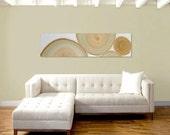 MAMACiTA original abstract modern painting - gallery fine art - contemporary interior design - ooak home wall decor - tan green