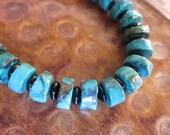 Bracelet--Turquoise and Onyx