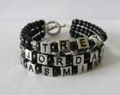 Custom 3-Strand Name Bracelet