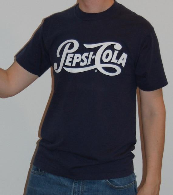 Pepsi-Cola Vintage T-Shirt Pepsi Tshirt Soda Pop