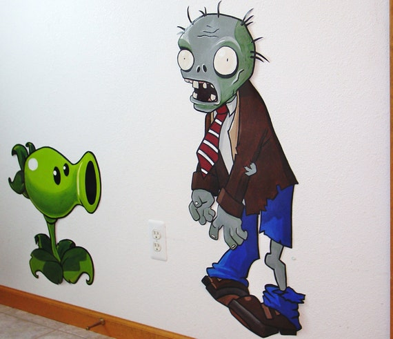 zombie wall murals images