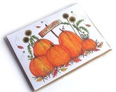 Fall Pumpkin Patch Greeting Cards - 5 Pack