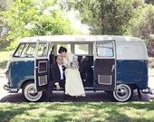 Custom Brooch Bouquet | Large Something Blue Bridal Bouquet | Navy Blue Enamel Flowers Handcrafted | Australian Bride | Hipster | VW Bug
