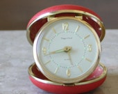 Clearance Sale Vintage Folding Travel Alarm Clock Tokyo Clock
