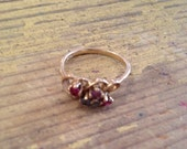 gold and gems ring
