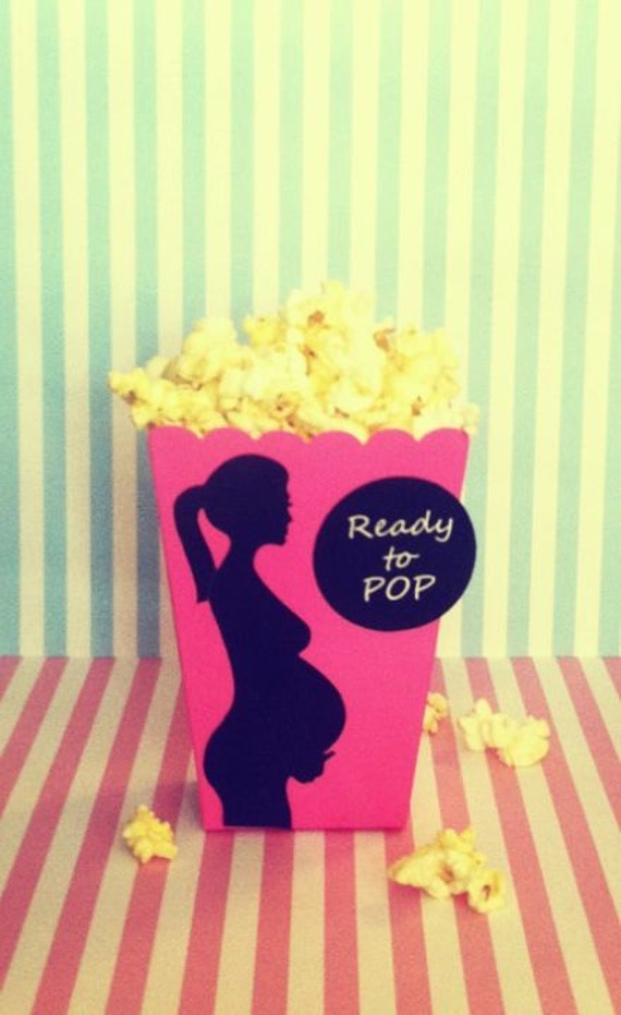 10 baby shower popcorn box candy table decoration sweet bar