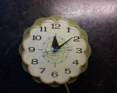 Mid Century Modern Kitchen Wall Clock