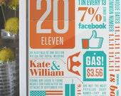 Birth Print - Typography/Art Print
