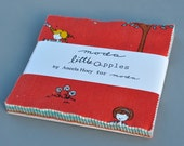 Moda Aneela Hoey Little Apples COMPLETE Charm Pack with 42 (5) Inch Charms