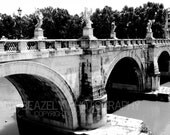 The Bridge- 8x10 black and white print