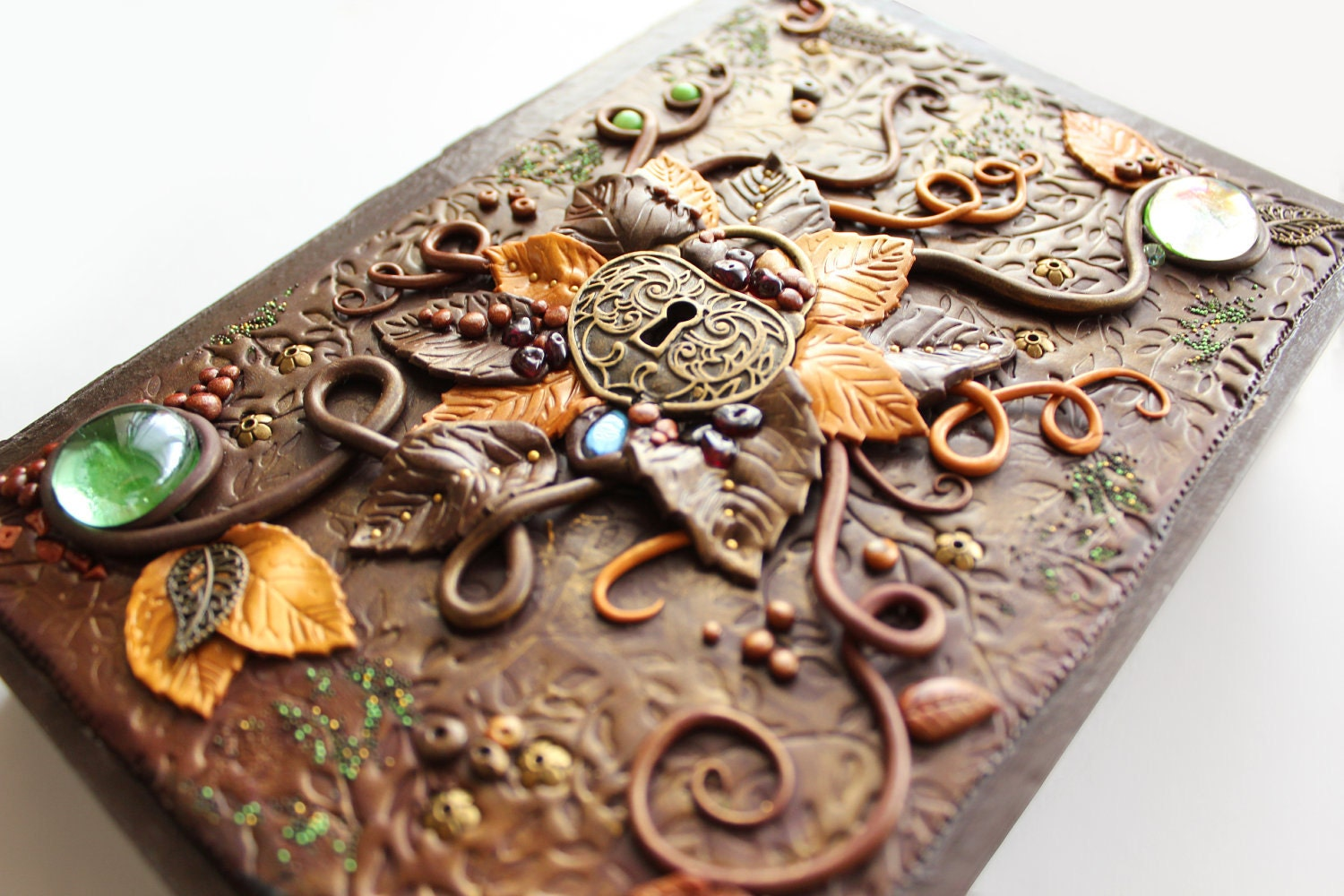 Polymer Clay Jewelry Box Secret Of Enchanted Forest