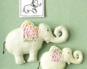 as seen in Good Housekeeping, large elephant softie