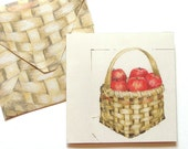 Apple Harvest - printable notes and envelopes - digital files