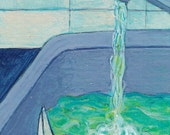 Sink: ACEO Original Art