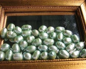 7mm Sea Foam Green Dyed Cultured Freshwater Pearls