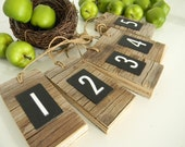 Barn wood tags for home organization and decor - Rustic Decor