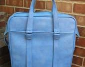 Vintage Samsonite Silhouette Softside Suitcase Retro Cool