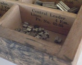 Letterpress Decorative Borders and Line Rule in Wooden Drawer