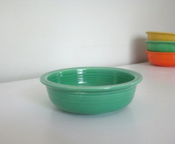 Vintage Fiestaware Fruit Bowl Light Green