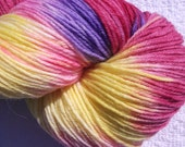 Hard Candy - Hand Painted Superwash Wool Sock Yarn