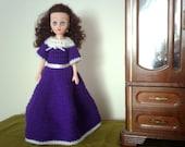 The Plum Doll - OOAK Hand Crocheted