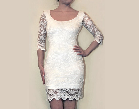 Special listing for Nadia - Custom made lace dress, Versace lace
