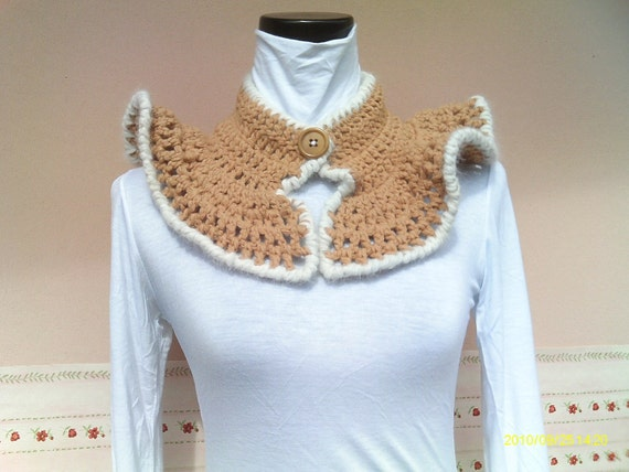Crocheted Neck Warmer MONTALE-OOAK
