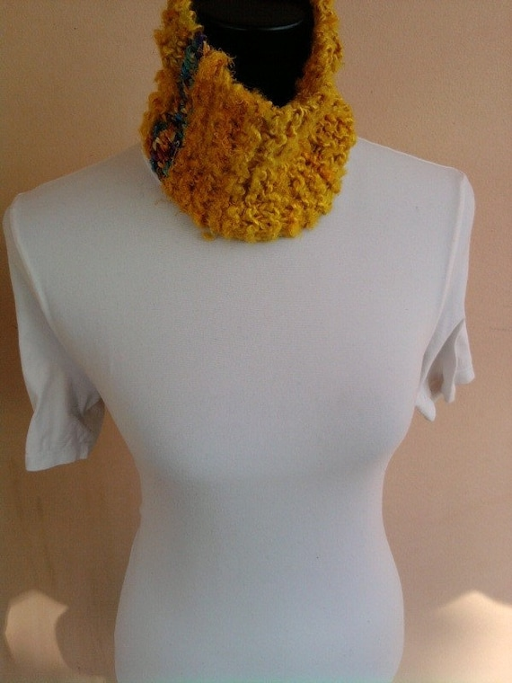 Knitted Neck warmer LEVI - ooak