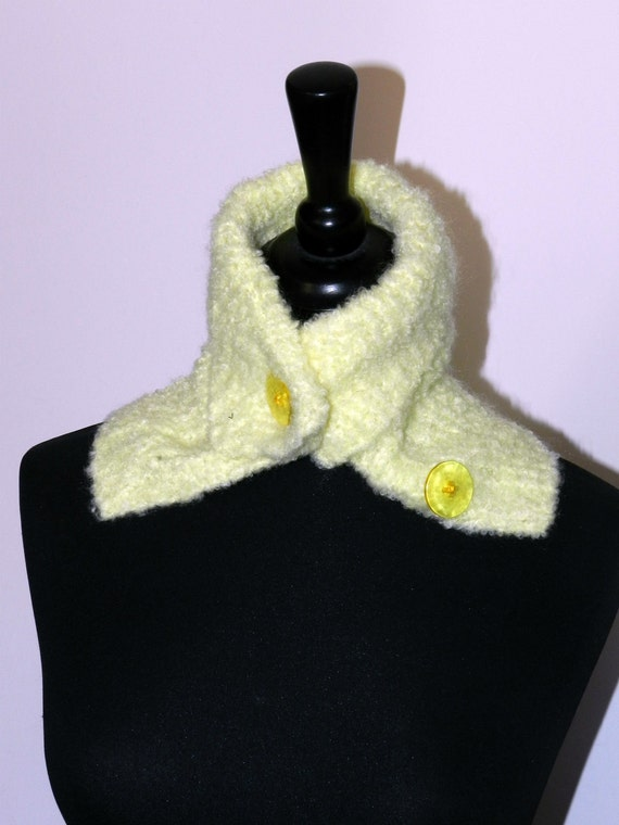 Knitted  Neck Warmer  MARAINI-OOAK