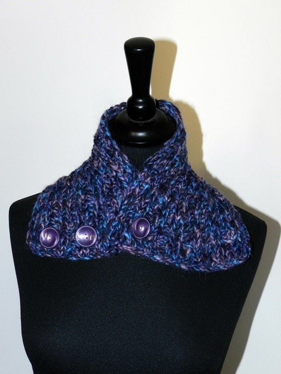 Knitted Neck warmer  NIEVO-OOAK