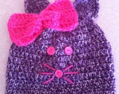 Meow The Hot Pink Kitty