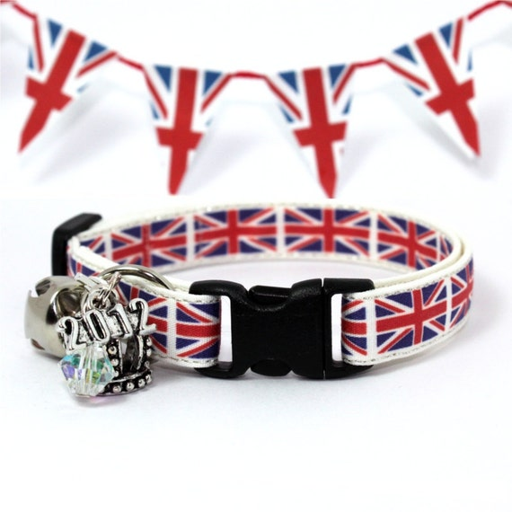 Cat Collar Queen's Diamond Jubilee Special Union Jack