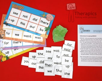 Bingo Dolch sight words - Set 2