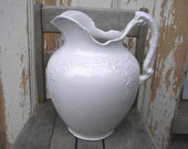 American pottery pitcher        Knowles Taylor & Knowles      Utah series       1905         large white