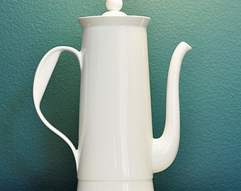 Ernest Sohn Coffee Pot, Flame Ware, Mid Century, Made in USA, HUGE