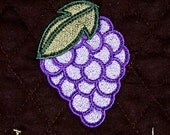 Digitized Embroidery - Grape Friends Last A Lifetime