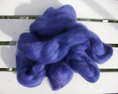 Deep PURPLE finest quality luxury merino tops wool roving - 24g