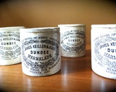 Antique Dundee Marmalade Crock (choose which one you would like)