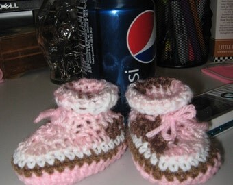 Soft booties for baby