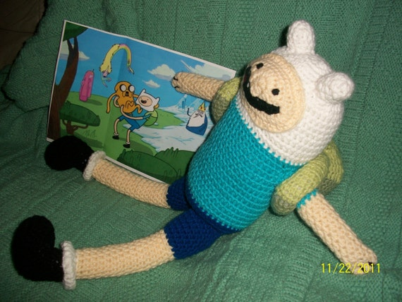 Finn Doll Adventure Time- 2 feet tall