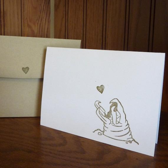 Seismic Vibrations Valentines Day Card - Tremors