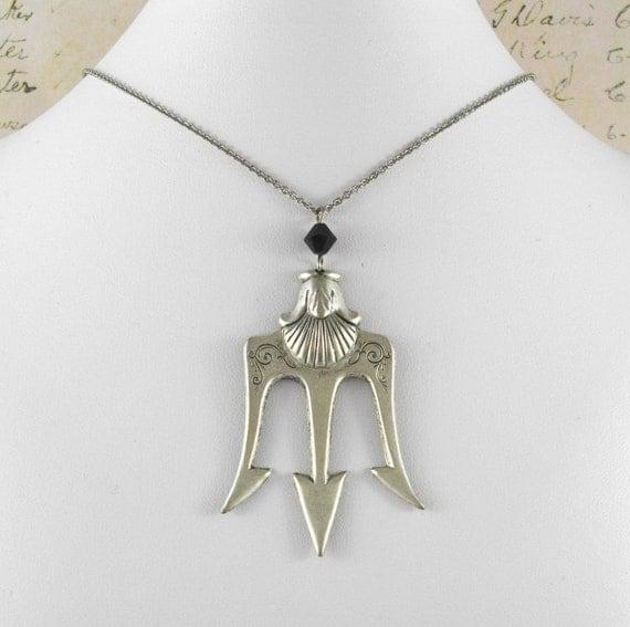 Poseidon's Trident Necklace