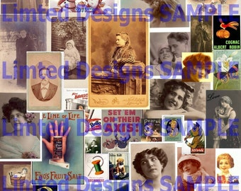 All 12 Volumes--19,000 Vintage Images Collection on DVD...Ephemera, ViCtoRiAn, TaGs, WiNgS, Cigar and MORE